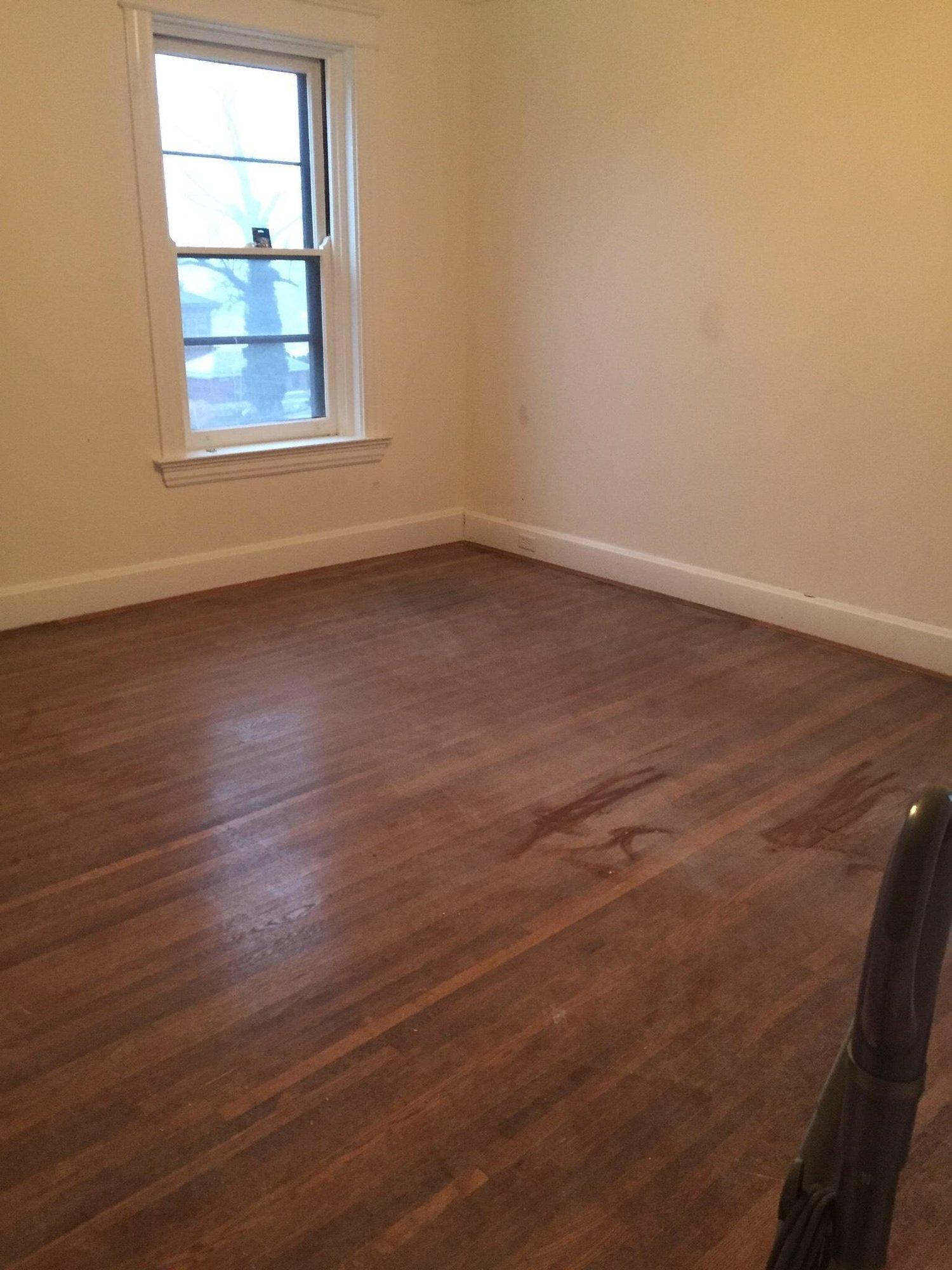 Hardwood Floords - Before