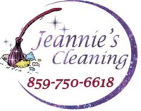 Jeannies Cleaning Logo