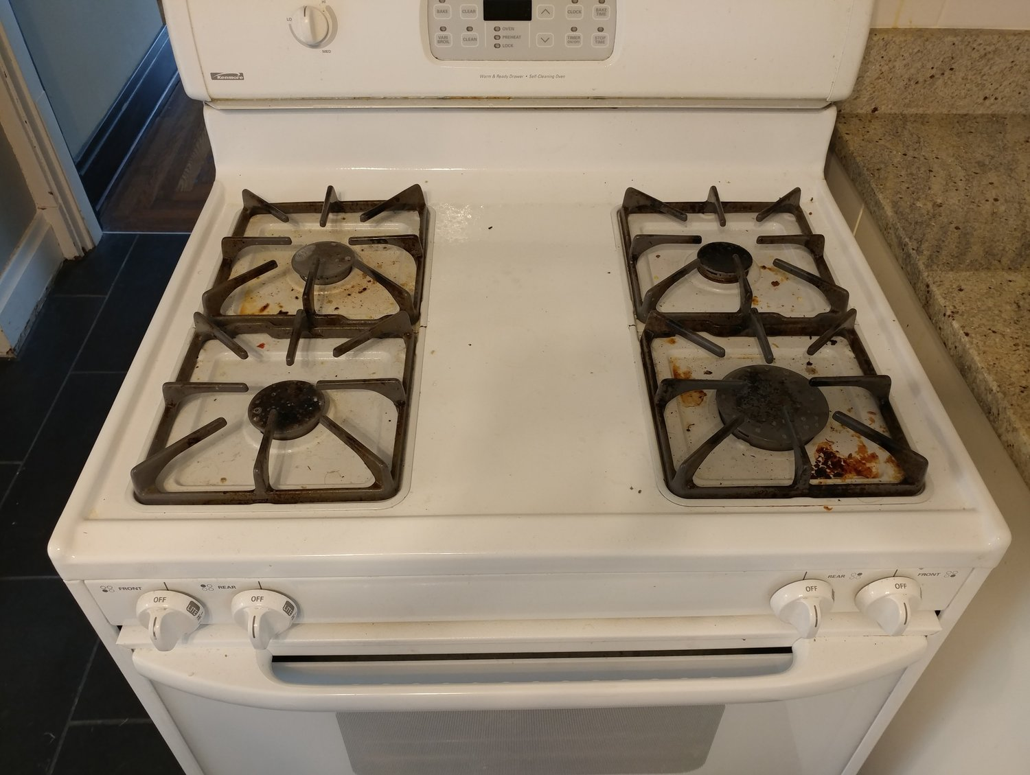 Stovetop - Before